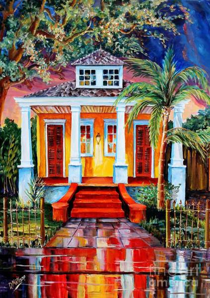 Wall Art - Painting - Big Easy Bungalow by Diane Millsap