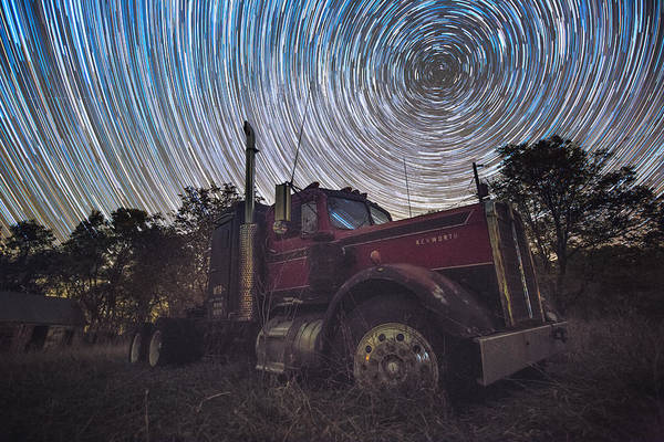 Photograph - Big Rig Trails by Aaron J Groen