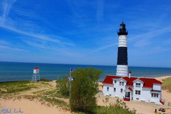 Wall Art - Photograph - Big Sable Point Lighthouse by Michael Rucker