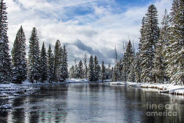Big Springs In Winter Idaho Journey Landscape Photography By Kaylyn Franks Art Print