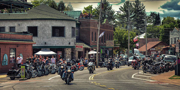 Photograph - Bikes And Brews In The Adk by David Patterson