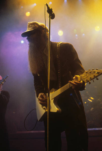 Photograph - Billy Gibbons Of Zz Top by Rich Fuscia