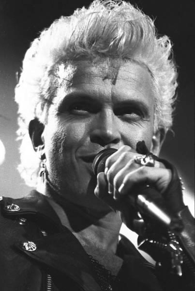 Billy Idol Photograph - Billy Idol by Wayne Doyle