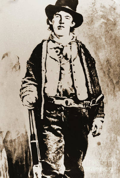 Photograph - Billy The Kid by Gary Wonning