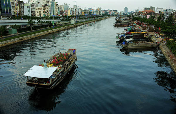 Photograph - Binh Dong Market by Tran Minh Quan