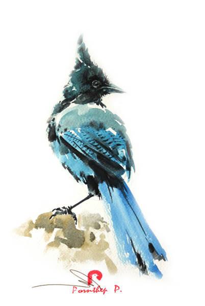 Birdman Painting - Bird Art by Pornthep Piriyasoranant