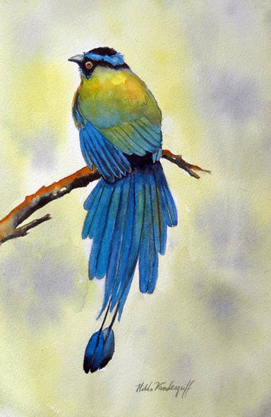 Painting - Bird Of Paradise by Hilda Vandergriff