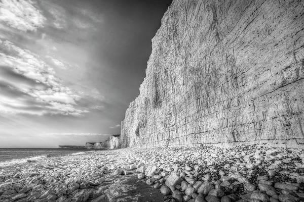 Wall Art - Photograph - Birling Gap And Seven Sisters by David Pyatt