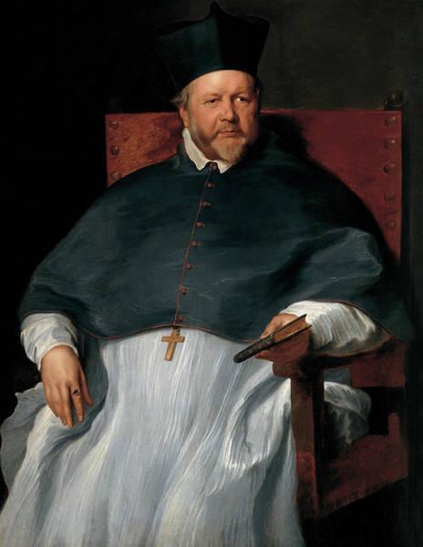 Painting - Bishop Jan Van Malderen by Anthony van Dyck