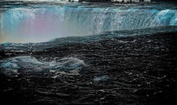 Digital Art - Black Niagara by Richard Ricci