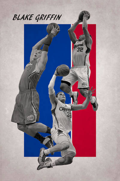 Wall Art - Photograph - Blake Griffin Los Angeles Clippers by Joe Hamilton
