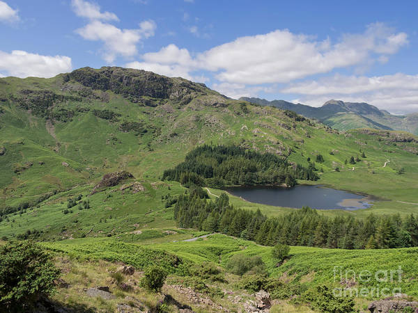 Wall Art - Photograph - Blea Tarn And Wrynose Fell From Lingmoor Fell by Louise Heusinkveld