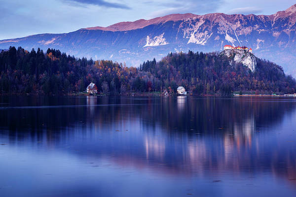Wall Art - Photograph - Bled Castle by Ian Middleton