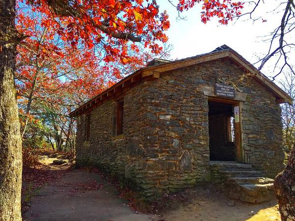Photograph - Blood Mountain Shelter by Richard Parks