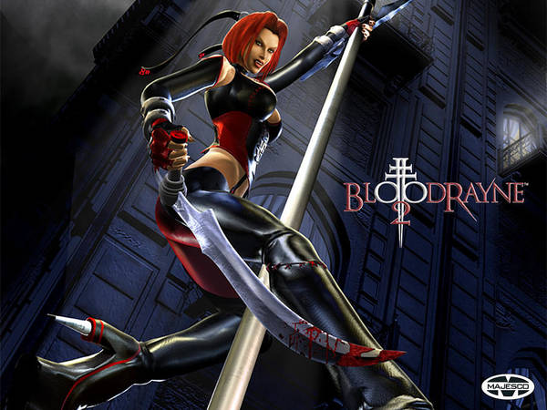 Wall Art - Digital Art - Bloodrayne by Mery Moon