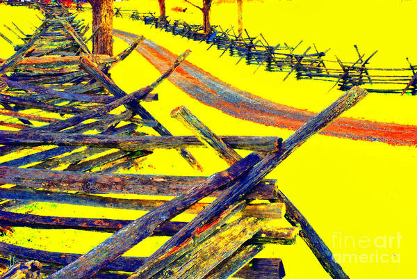 Antietam Photograph - Bloody Lane - Antietam by Paul W Faust - Impressions of Light