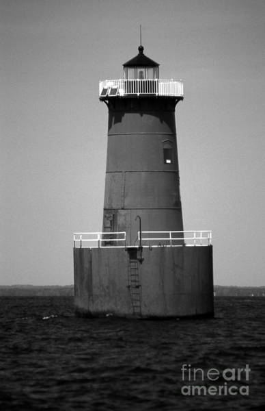 Wall Art - Photograph - Bloody Point Lighthouse Md by Skip Willits
