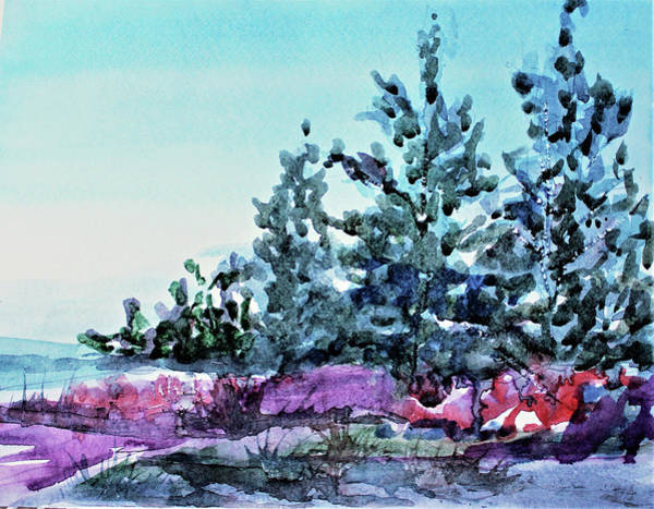 Wall Art - Painting - Blue Ridge Mountains by Mindy Newman