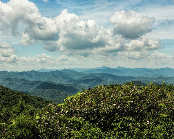 Photograph - Blue Ridge Vista by Jemmy Archer