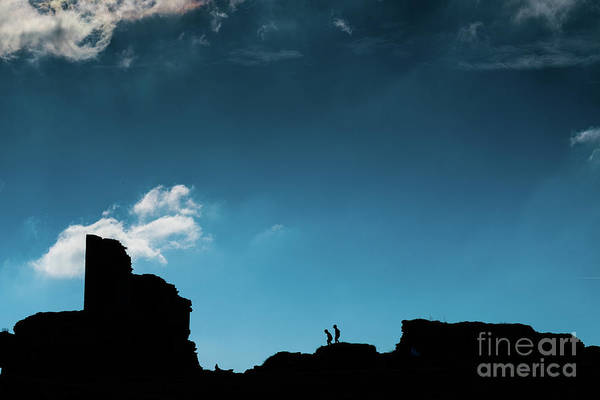 Photograph - Blue Sky And Silhouettes by Keith Morris