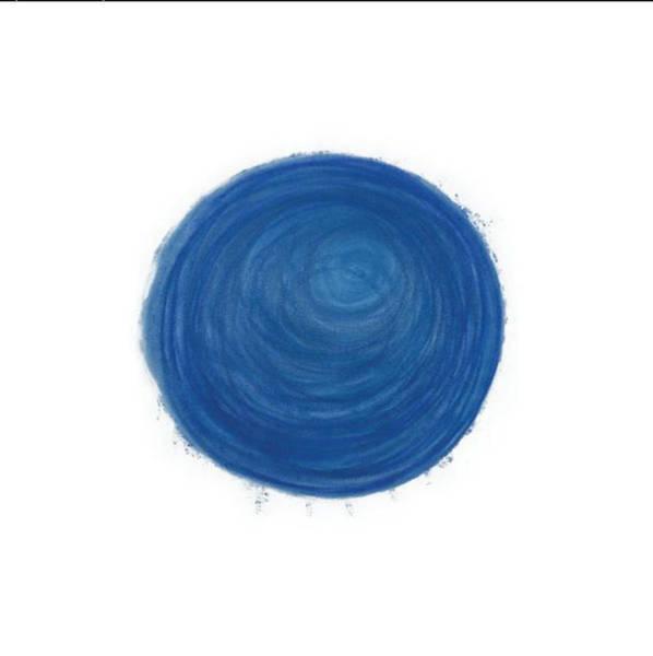 Pastel - Blue Sphere by Annette Hadley