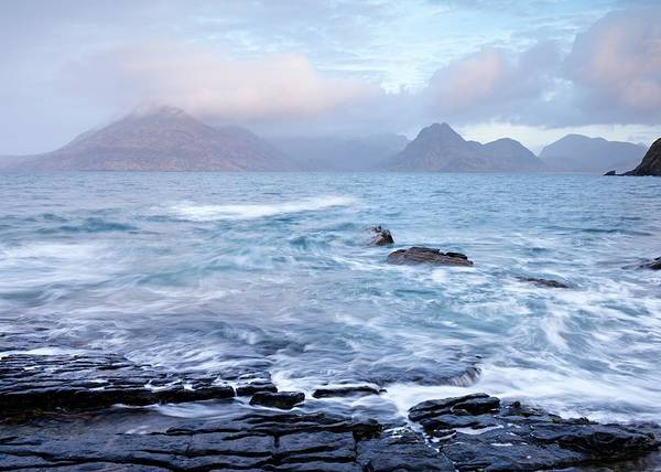 Photograph - Blustery Weather At Elgol by Stephen Taylor