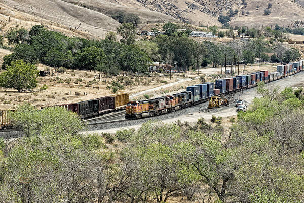 Photograph - Bnsf5256 by Jim Thompson