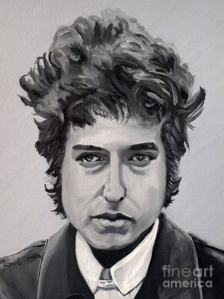 Painting - Bob Dylan by Mary Capriole