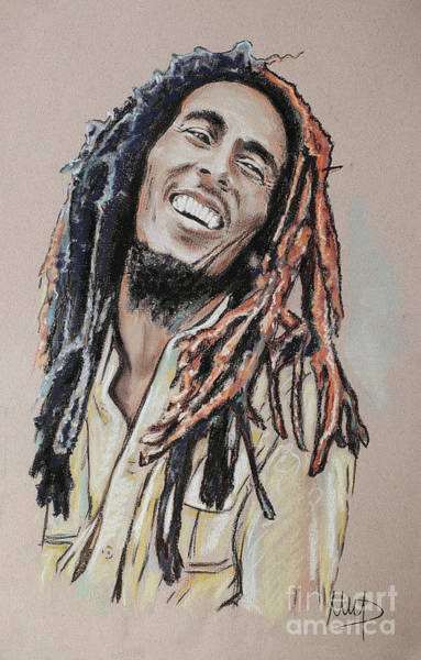 Wall Art - Painting - Bob Marley by Melanie D