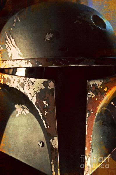 Wall Art - Photograph - Boba Fett Helmet 21 by Micah May