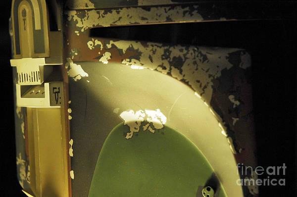Wall Art - Photograph - Boba Fett Helmet 29 by Micah May