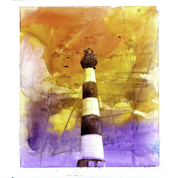 Bodie Painting - Bodie Island Lighthouse by Ryan Fox