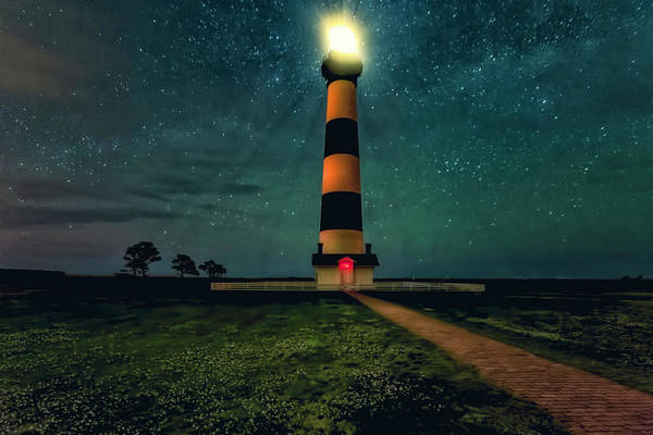 Bodie Island Night Art Print