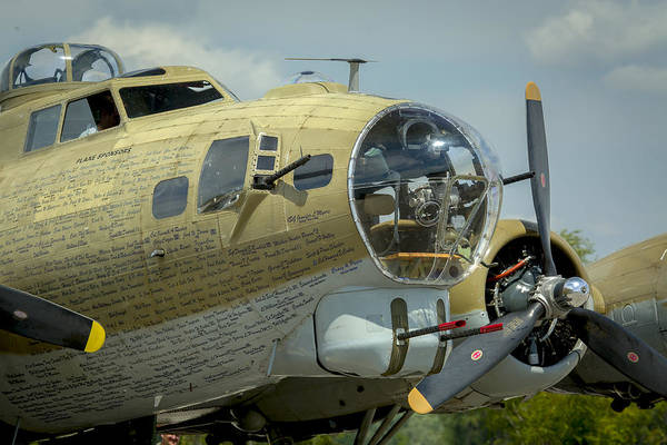 Photograph - Boeing B-17 Flying Fortress by Jack R Perry