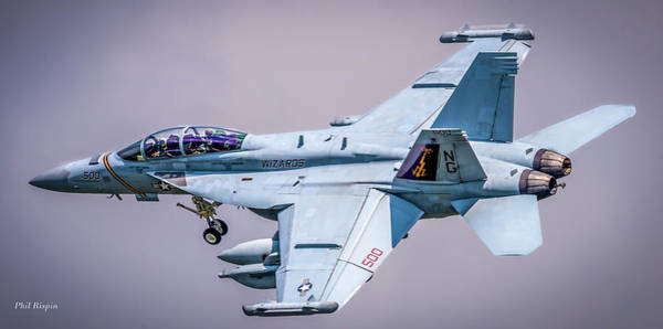Photograph - Boeing Ea-18g Growler  by Philip Rispin