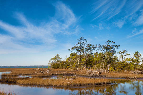 Photograph - Bogue Sound Overview by Rudy Umans