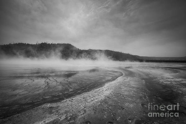 Prismatic Wall Art - Photograph - Boiling Lake Aka Grand Prismatic Spring by Michael Ver Sprill