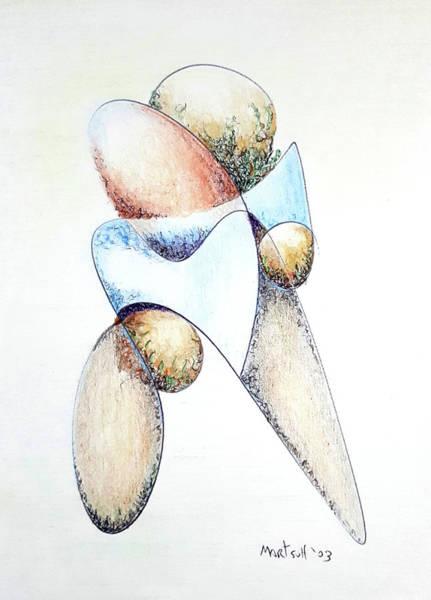 Drawing - Bolder by Dave Martsolf
