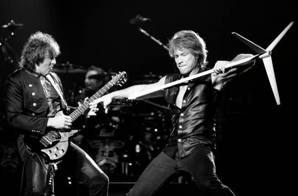 Live Bands Photograph - Bon Jovi by Ben James