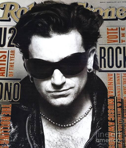 U2 Photograph - Bono Of U2 by Douglas Sacha