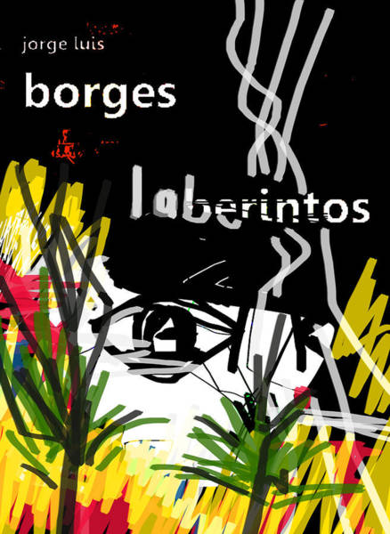 Painting - Borges' Labyrinths Poster by Paul Sutcliffe