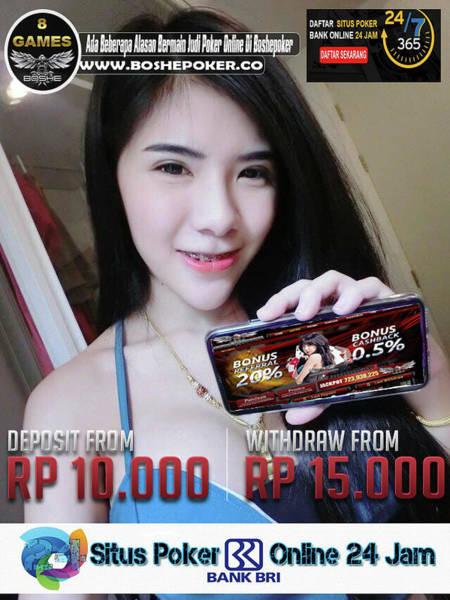 Deposit Drawing - Boshepoker Situs Poker Online Bank Bca 24 Jam Indonesia by Daftar Online