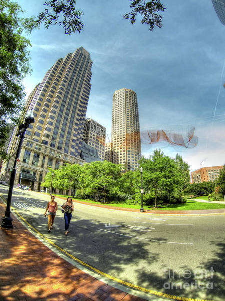 Photograph - Boston by LR Photography