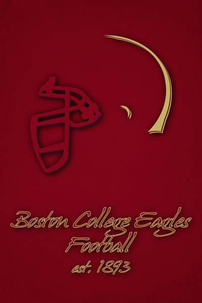 College Photograph - Boston College Eagles by Joe Hamilton