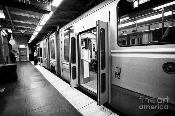 Wall Art - Photograph - Boston Mbta Underground Green Line Station Kenmore Usa by Joe Fox