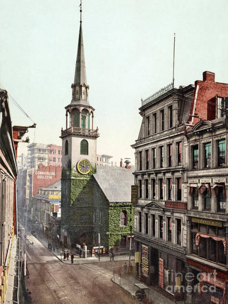Photograph - Boston, Old South Church.  by Granger