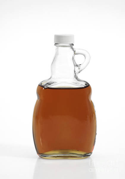 Acer Saccharum Photograph - Bottle Of Maple Syrup by Gerard Lacz