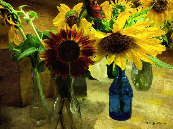Painting - Bottled Sunshine  by RC DeWinter