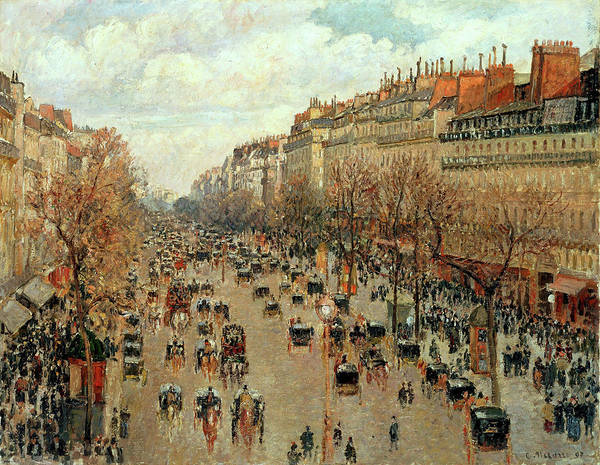 Painting - Boulevard Montmarte by Camille Pissarro