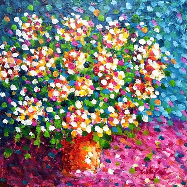 Painting - Bouquet by Cristina Stefan